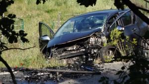 Accident sur la RD 96 en face du clos de la ferme 15 mai 2016 7h20